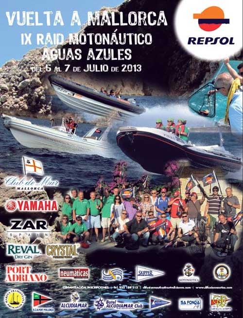VUELTA A MALLORCA IX RAID MOTONÁUTICO