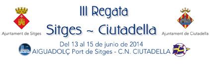 III REGATA SITGES - CIUTADELLA